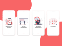 E-Commerce App Onboarding screen