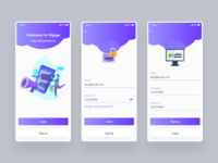 Sign in & Sign up UI