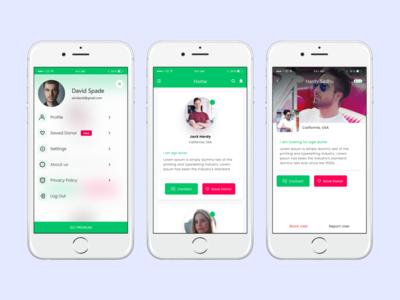 Donor app design