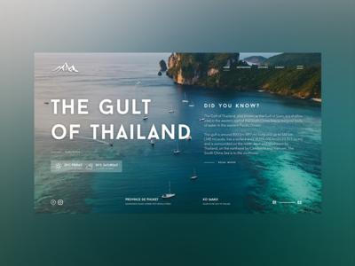 The Gult of Thailand