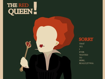 The RED Queen !