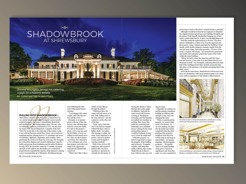 Magazine Feature Design illustration publication print magazine luxury event events formal design cover story design make a magazine magazine designer catering services food luxury restaurants good design llc consulting creative direction graphic design editorial design art direction