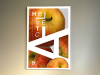 Helvetica Font Poster Series 1