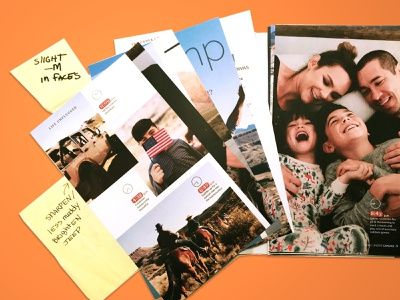 Color Corrections magazine upscale lifestyles editorial design press proofs print color