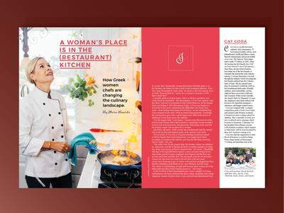 Feature Magazine Design