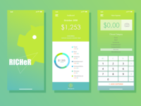 Expense tracking app design
