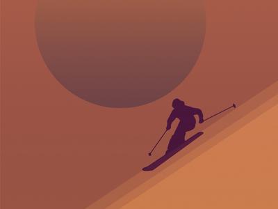 Skiing Mobile Wallpaper