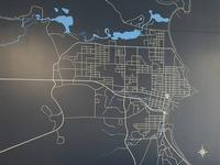 Vinyl Street Map