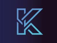 K - Konnekted Logo Concept