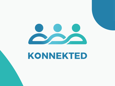 Konnekted Logo (approved) group people logo konnekted