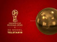 FIFA World cup Ball - 3D Model