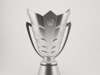 AFC Asian Cup Trophy 3D Model