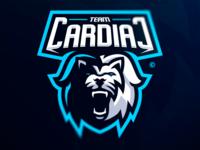 Premade Lion Mascot Logo SOLD
