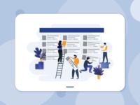 Illustrations for e-commerce app
