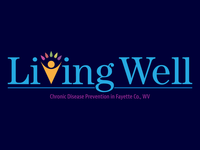 Living Well Logo Design