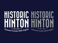 Historic Hinton Logo