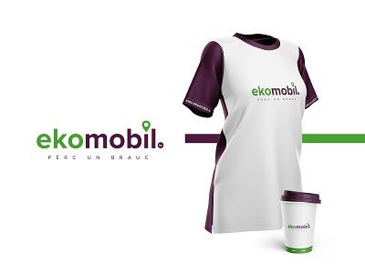 ekomobil car sales cars brand identity brand ekomobil logodesign branding logotype logo
