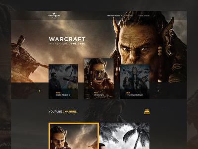 Universal Pictures Website kristaps-design cinema movie web movies web interfaces website web universal pictures universal
