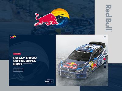 RedBull Racing car web web interfaces web design website web racing redbull
