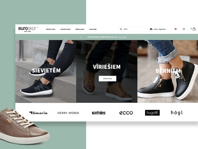 EUROSKOR euroskor interactive modern web interfaces clean website web webdesign