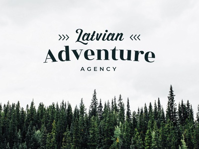 Latvian Adventure Agency logotype logos branding logo design natural natural logo clean logo logo