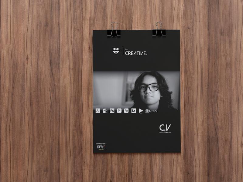 CV's Cover blackandwhite wooden photoshop mockup resume cv resume cv design