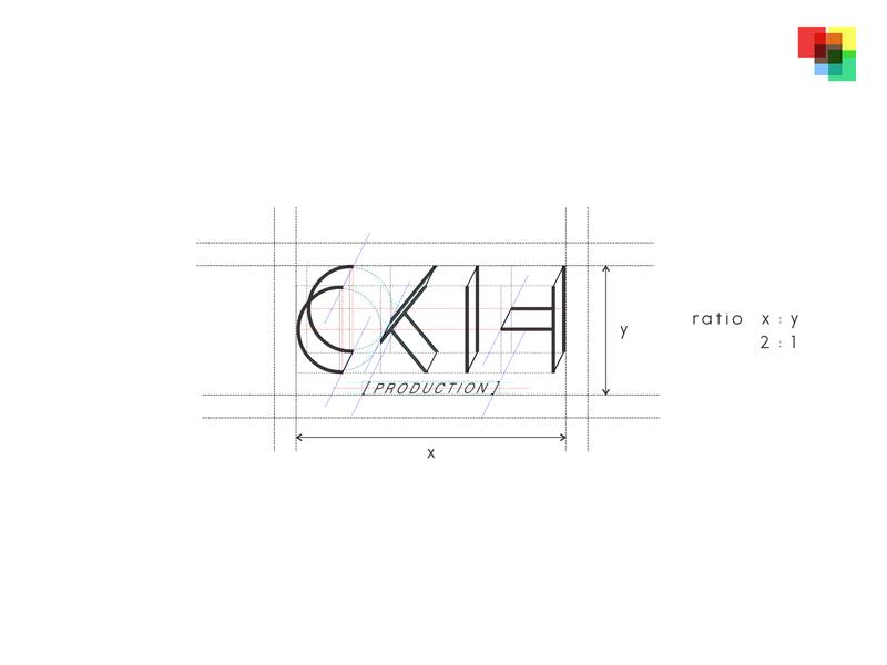 [frame] - CKIH Production build Logo coreldraw lines build framing frame logos logo design logodesign logotype logo