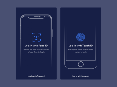 Touch ID & Face ID login