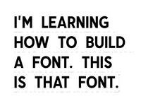 Font WIP