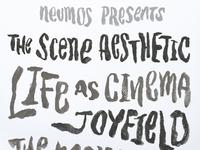 The scene aesthetic neumos show poster