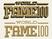 World fame 100 alternates
