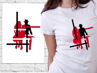 Final: The White Stripes Poster & Tee learning the white stripes poster tshirt