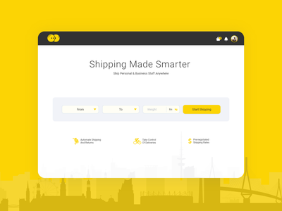 International Shipping ux interaction shipper cargo ship shipping courier branding illustration clean uiux user experience user interface