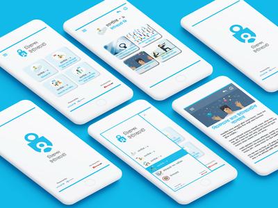 Safe Internet App UI (UNICEF)