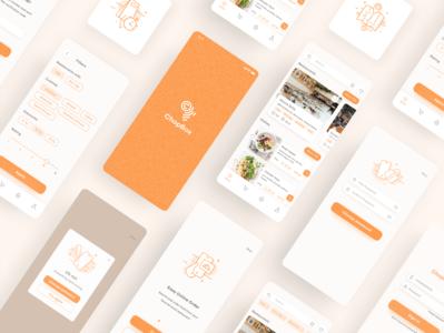 Redesign food delivery app delivery food ios illustration logo mobile design app ux ui