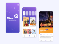 Weeb Tv - Mobile UI