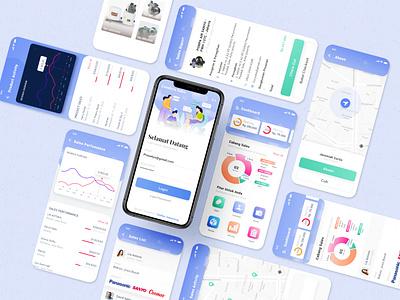 Goodeva - Digital Sales UI app ux illustration uidesign user interface mobile ui design