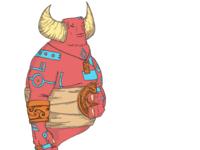 Djinn Digital Coloring