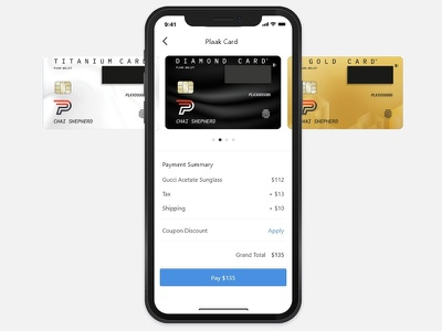 Plaak Hardware Credit Card icon minimal payment page website webapp landing page crypto currency blockchain credit card checkout payment credit card web app illustration branding ux ui graphic design vector