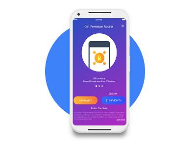 Paywall illustration branding adobe premium mockup app concept app design app animation app branding minimal ui ux challenge information access premium concept design paywall screen app