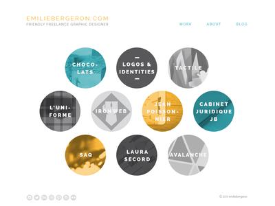 Friendly Freelancer Personal Portfolio personal portfolio graphic designer freelance work responsive