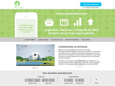 App Homepage app application menu infographics coutdown website login homepage
