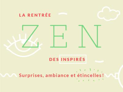 Les Inspirés Zen event design inspiration creative zen