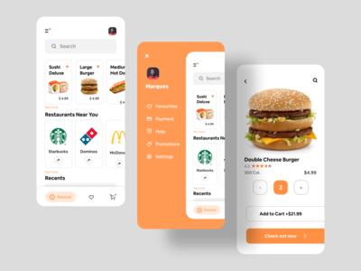 La Comer, Food App