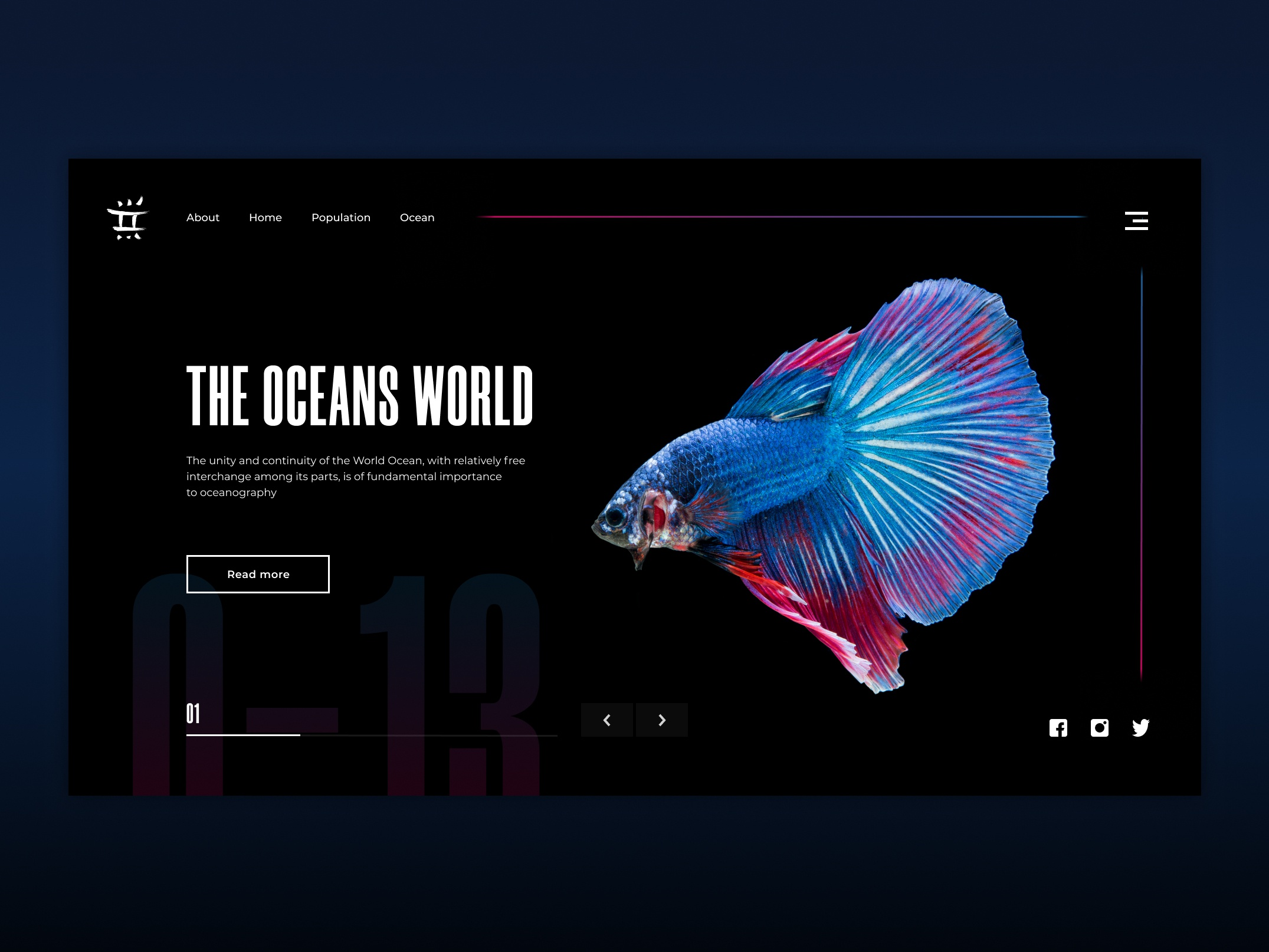 Oceans World Screen