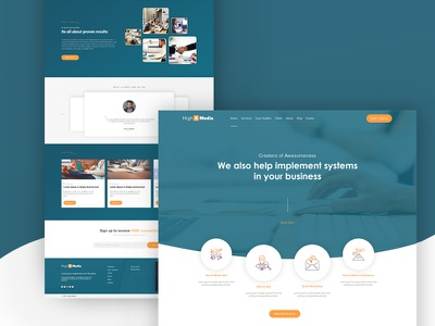 High5media_Website web ui design