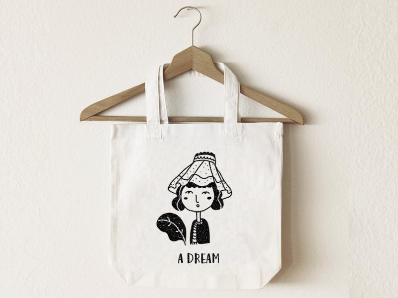 Canvas bag design 设计 illustration