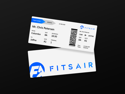 FITS AIR Ticket Design