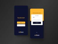 Caboo Taxi App Concept