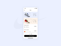 Nike - Store app concept - Checkout